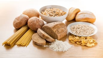 Brot ist ein klassisches Lebensmittel, welches Weizen enthält.