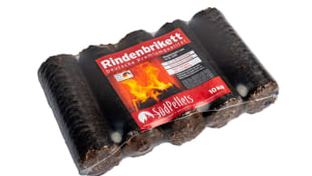 Rindenbriketts