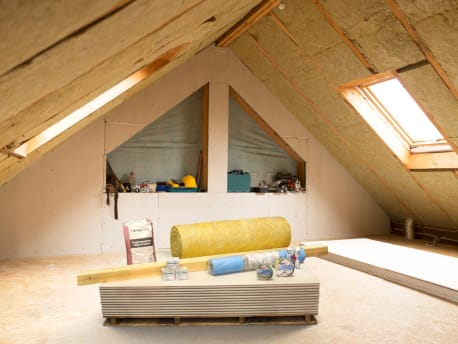 Die nächste Aktion: Dach & Innenausbau