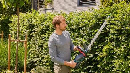 Scharfe Geräte für die Baum-, Strauch- und Heckenpflege