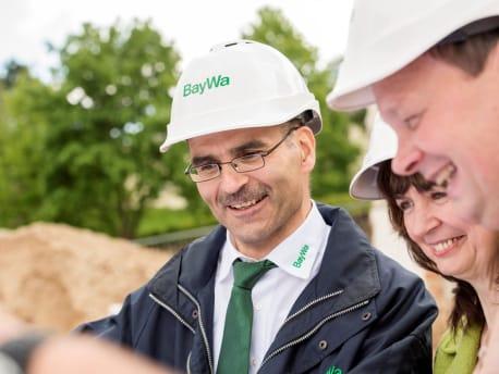 Bauen Genehmigungen und Baurechtschaffung