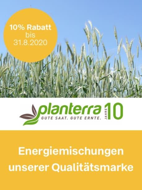 Planterra Energiemischungen um 10 % rabattiert