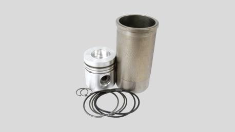 Kolben und Zylinder
