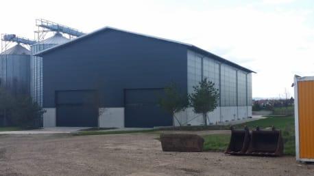 Getreideannahmehalle in 99867 Gotha