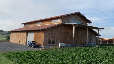 Getreidelagerhalle in 97618 Hollstadt