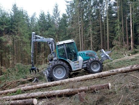 Pfanzelt-Forsttechnik für alle Einsatzbereiche der Waldarbeit