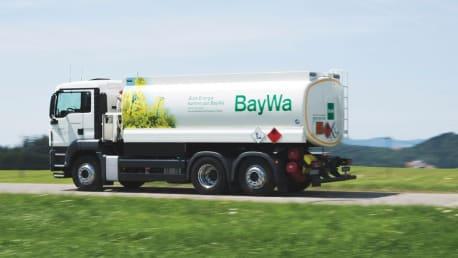 BayWa Tankwagen