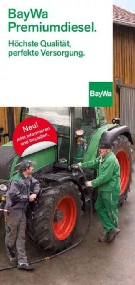 Flyer Premiumdiesel für Landwirtschaft