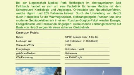 Medical Park Reithofpark in Bad Feilnbach