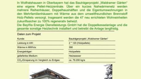 Wärmelieferung aus Pellets  in Wolfratshausen