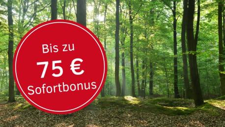 Bis zu 75€ Sofortbonus