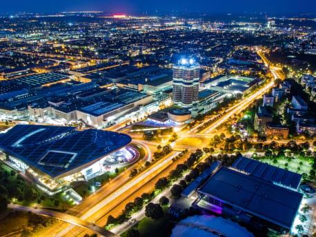 Lichter Großstadt