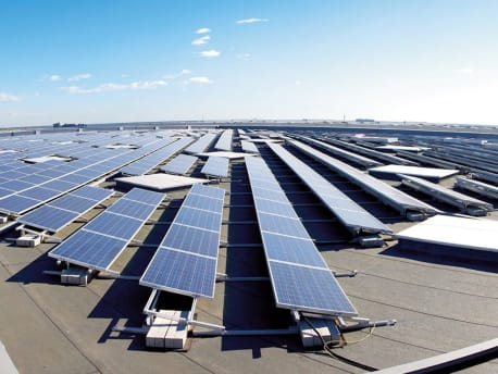 Photovoltaic plant in Spain