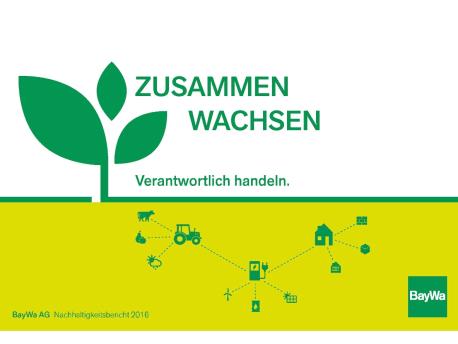 Nachhaltigkeitsbericht 2016
