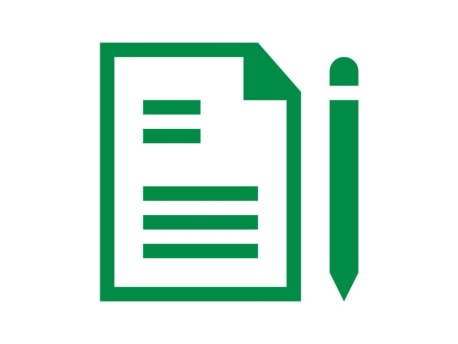Piktogramm Notizen