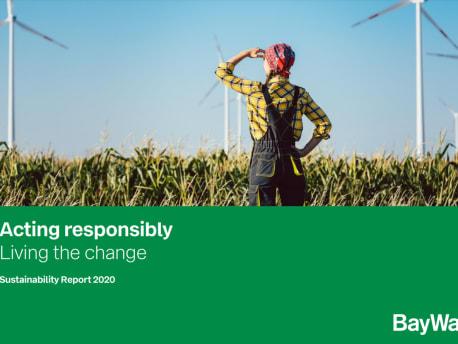 BayWa Sustainability Report 2020