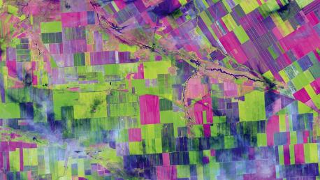 Satellite image Russia