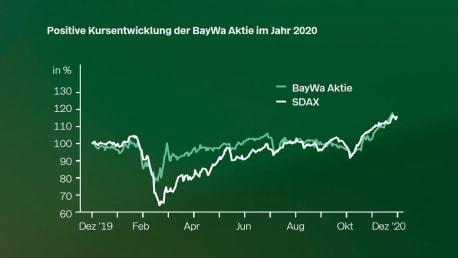 Aktienkurs BayWa 2020
