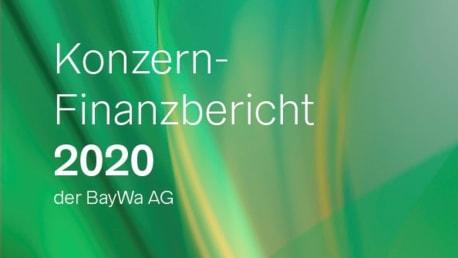 Titel Konzernfinanzbericht 2020