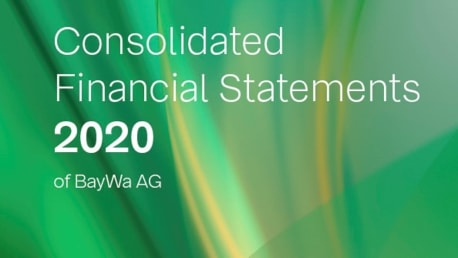 Cover Financial report 2020
