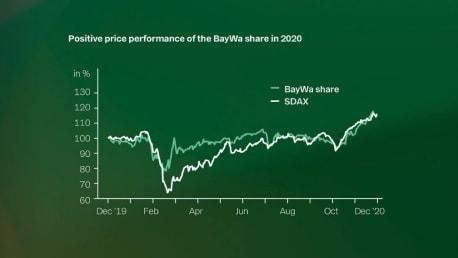 BayWa share in 2020