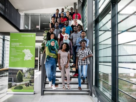 25 African scientists are supervised in the postgraduate course at the Weihenstephan-Triesdorf University of Applied Sciences.