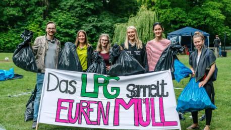 BayWa Foundation is environmental sponsor of the Luitpold-Gymnasium Munich.