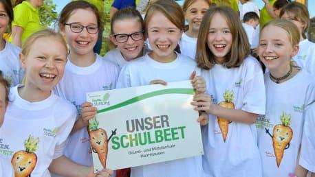 Schulgarten der BayWa Stiftung an Grundschulen