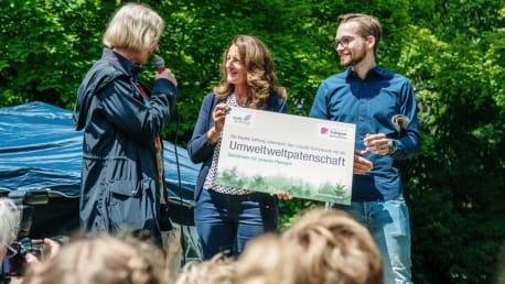 Neue Umweltpatenschaft mit dem Luitpold-Gymnasium München