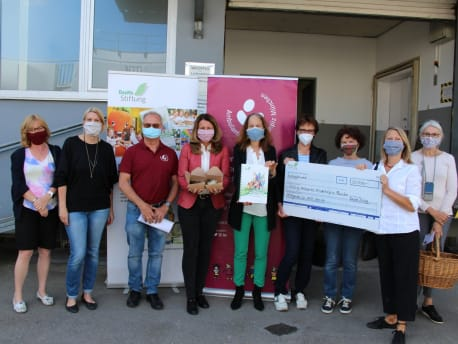 The BayWa Foundation supports families of the Ambulantes Kinderhospiz München