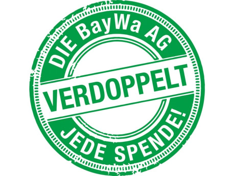 Die BayWa AG verdoppelt jede Spende