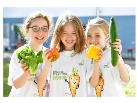 Die BayWa Stiftung vermittelt gesunde Ernährung für Kinder.