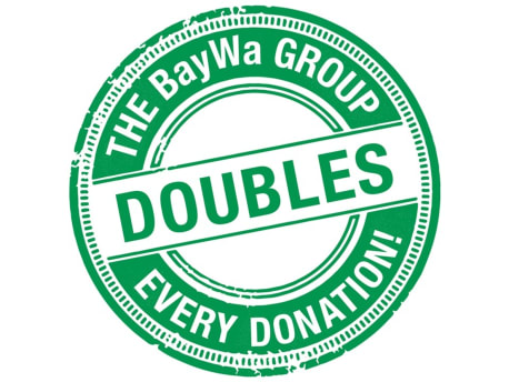 BayWa Group doubles every donation.