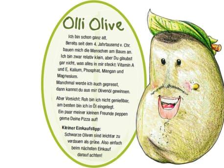 Olli Olive stellt sich vor