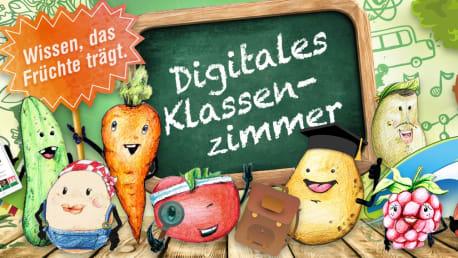 Lernspiele und Ernährungswissen: Das digitale Klassenzimmer der BayWa Stiftung