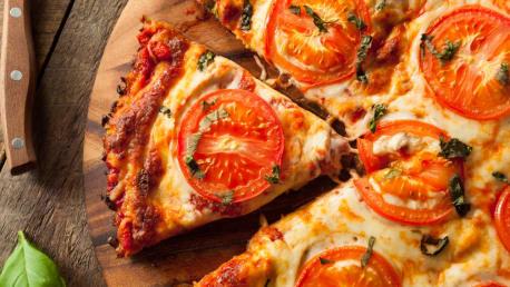 Pizza ohne schlechtes Gewissen