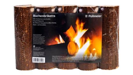 Buchenbriketts