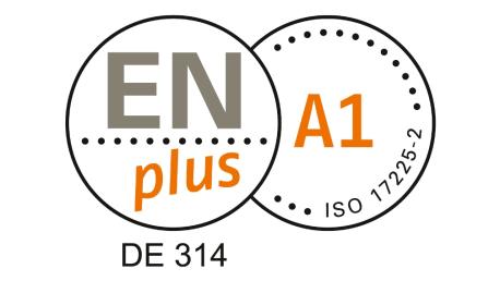 ENplus A1 Zertifikat