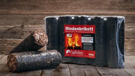 Südpellets Rindenbriketts