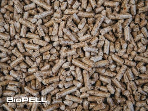Holzpellets lose Ware 3