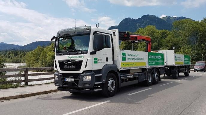 BayWa Lieferwagen