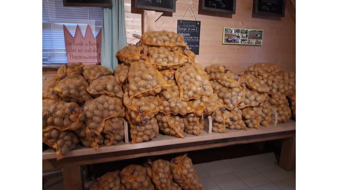 Säcke mit Kartoffeln
