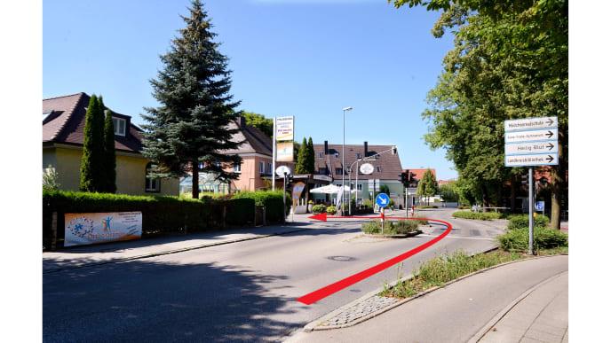 Wegweiser Straße