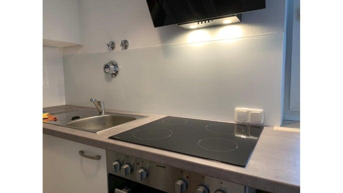 Küchenglasrückwand