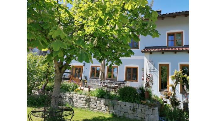 Haus mit Kastanienbaum