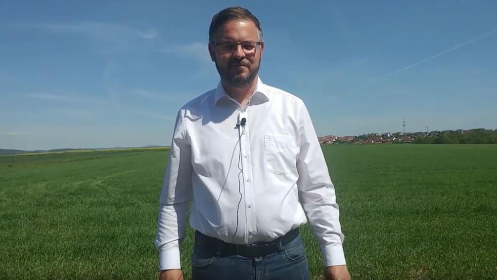 Sommergerstenbestand in Hohenroth