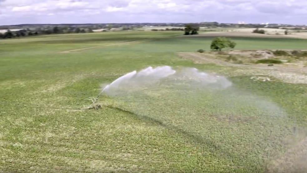 Satellitengestützte Bewässerung