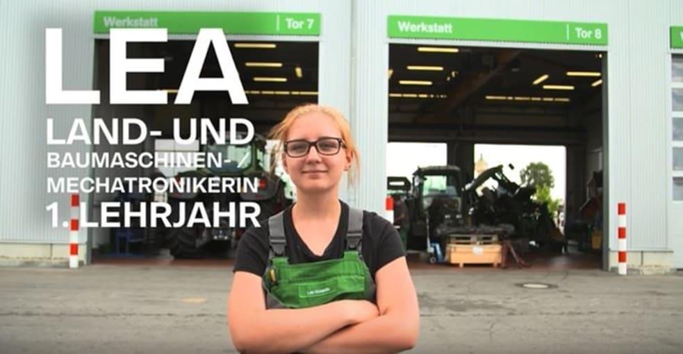 Auszubildende Lea erzählt von ihrer Ausbildung