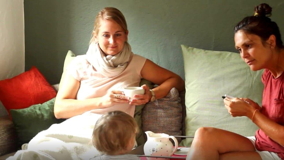 Helfende Mütter