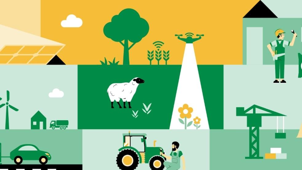 Illustration BayWa Vielfalt
